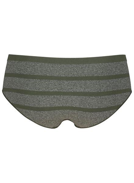 dameshipster naadloos grijsmelange grijsmelange - 1000015286 - HEMA