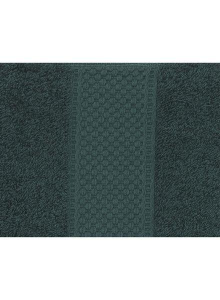 handdoek - 70 x 140 cm - zware kwaliteit - donkergroen - 5220015 - HEMA