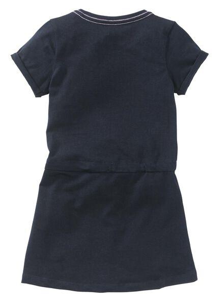 kinderjurk donkerblauw - 1000009068 - HEMA