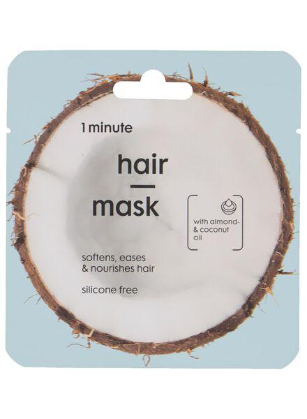 haarmasker kokosolie - 11057134 - HEMA