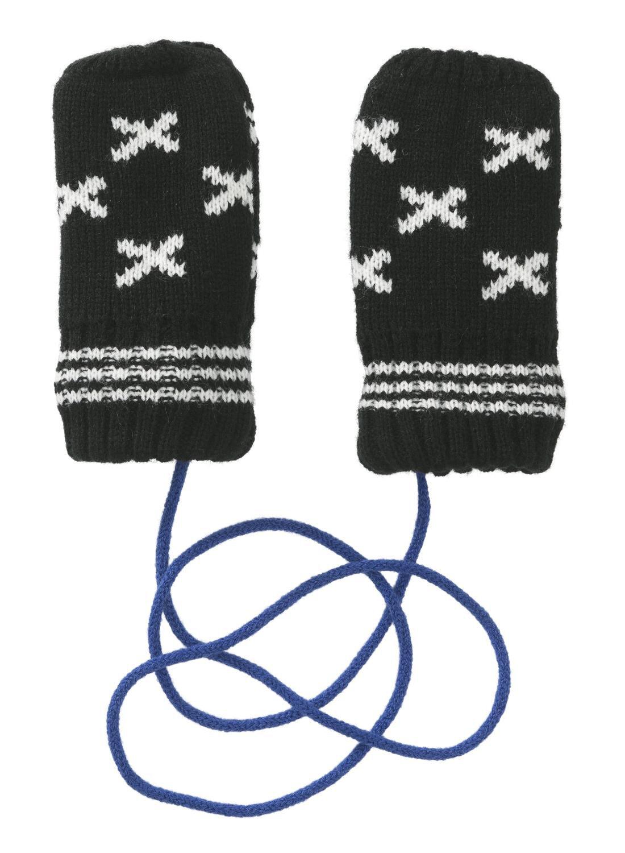 HEMA Baby Handschoenen (donkergrijs)