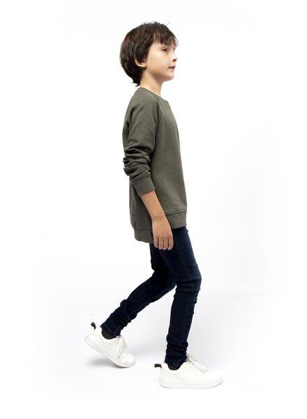 kindersweater legergroen - 1000017865 - HEMA