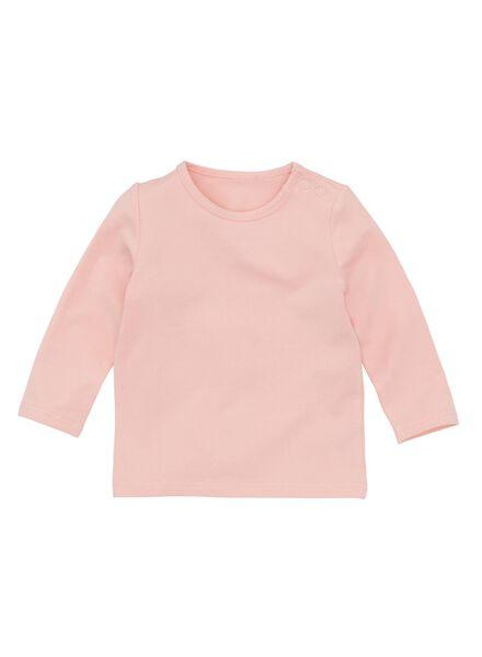 baby t-shirt roze roze - 1000008497 - HEMA