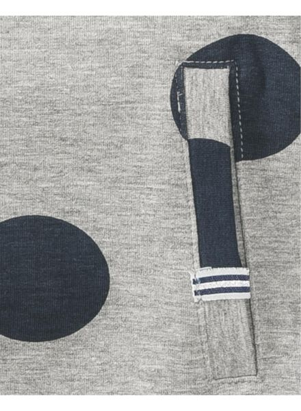 kinderjurk grijsmelange grijsmelange - 1000008400 - HEMA