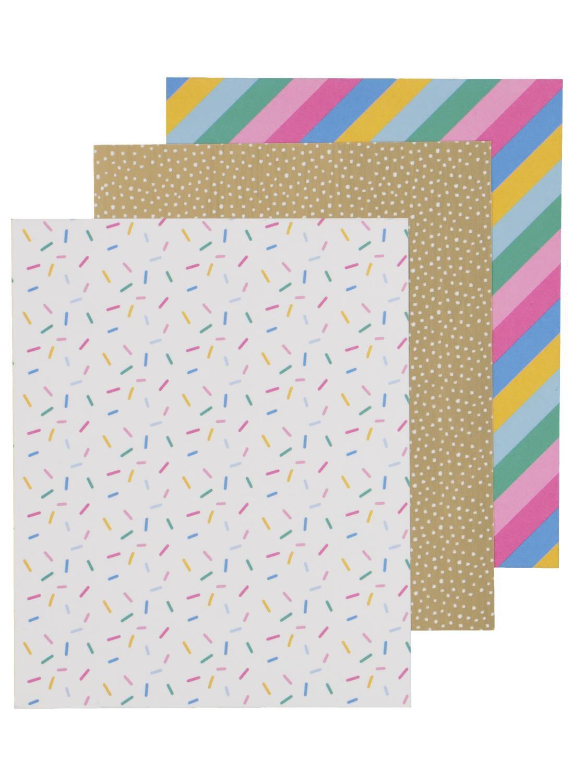 HEMA Washi Sheets 16 X 13 - 3 Stuks