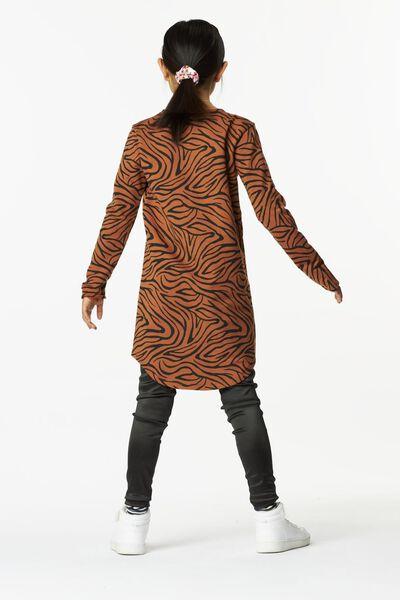 kinderjurk zebra bruin bruin - 1000024955 - HEMA