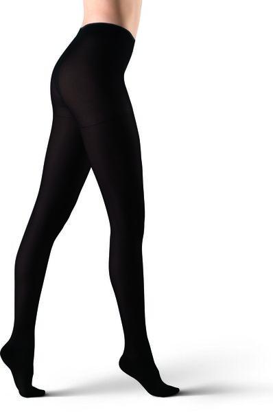 panty stimulerend 60denier zwart 36/38 - 4040336 - HEMA