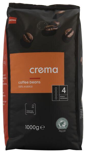 koffiebonen crema - 1000 gram - 17160002 - HEMA