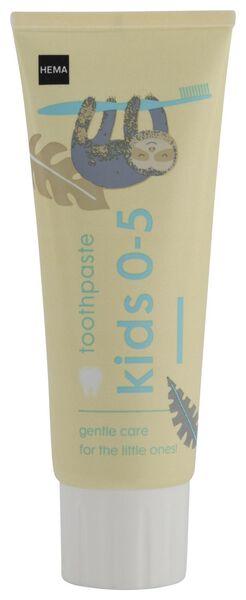 tandpasta kids 0-5 75 ml - 11130025 - HEMA