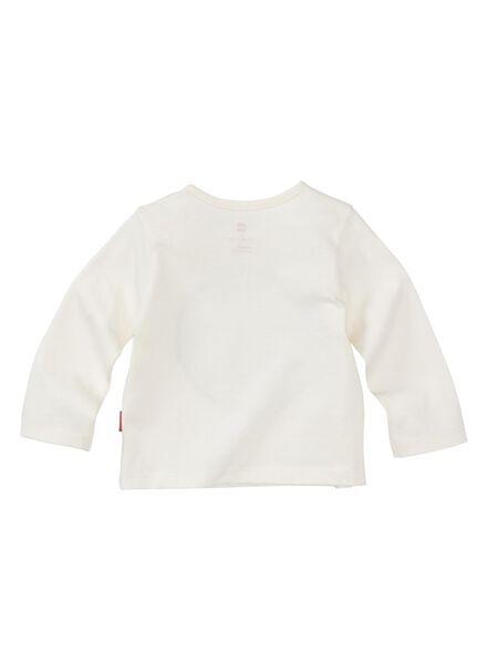 newborn t-shirt gebroken wit gebroken wit - 1000013028 - HEMA