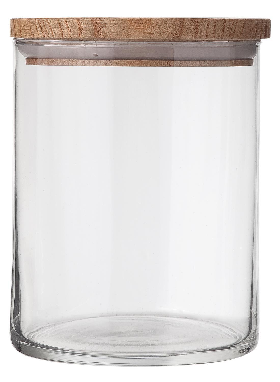 HEMA Glazen Voorraadpot 1.4L (transparant)