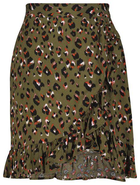 dames rok ruffle multi multi - 1000023994 - HEMA