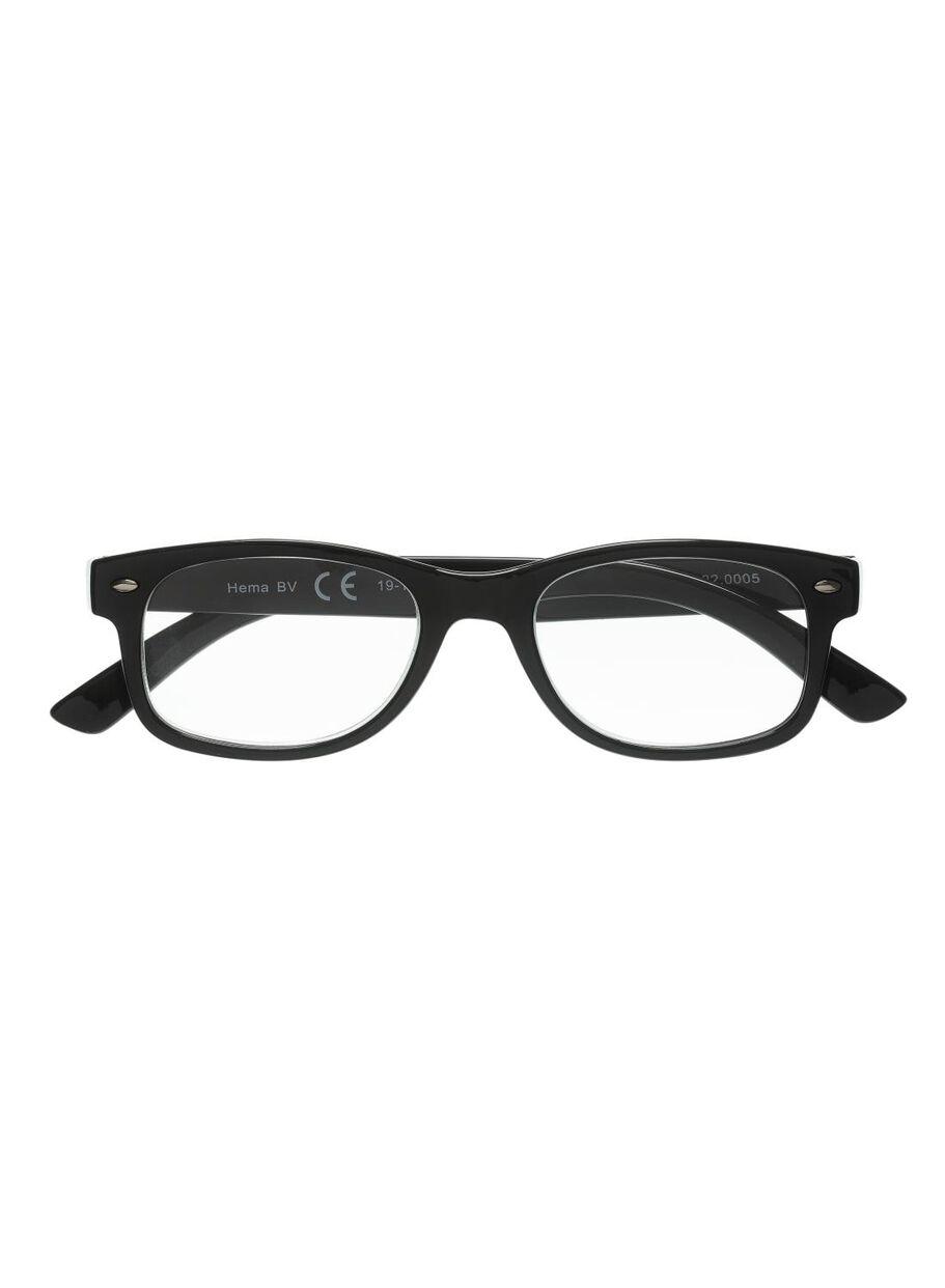 aa07dc2a8c7cb1 afbeeldingen leesbril zwart zwart - 1000011662 - HEMA