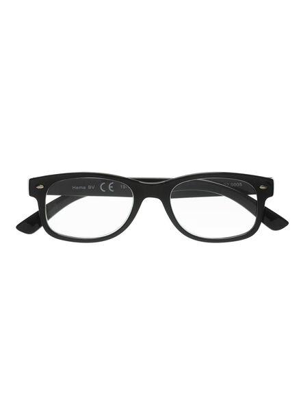 leesbril zwart zwart - 1000011662 - HEMA