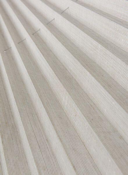 plisségordijn structuur transparant 20 mm - 7430045 - HEMA