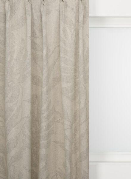 gordijnstof lisse blad - 7232813 - HEMA