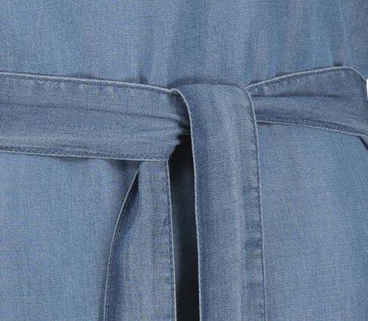 damesjurk blauw L - 36271525 - HEMA