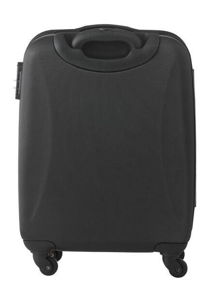 Koffer - 55x37x20.5 - zwart met USB-plug