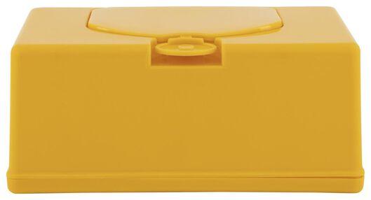 Tissuebox geel 11x20x8.5