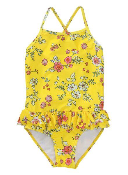 kinderbadpak geel geel - 1000013508 - HEMA