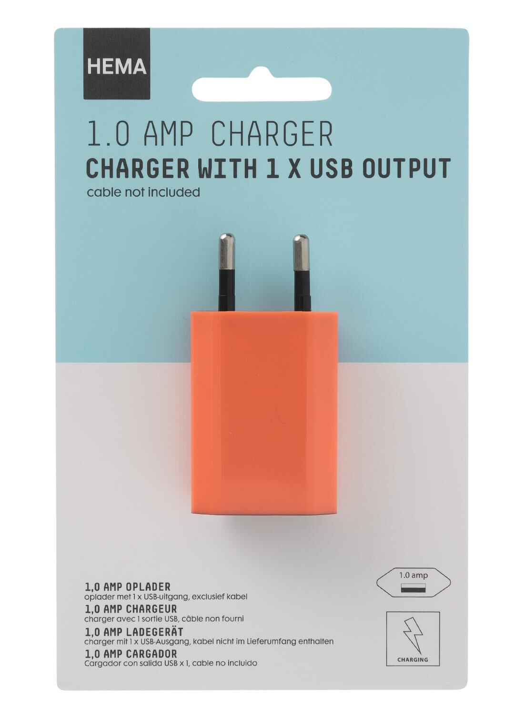 HEMA Oplader USB 1.0 Amp