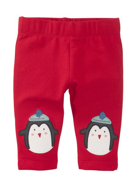 newborn legging rood rood - 1000010670 - HEMA