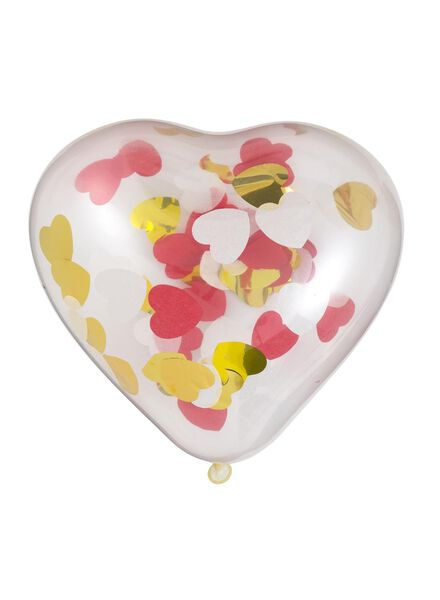 6-pak confetti ballonnen - 14230143 - HEMA