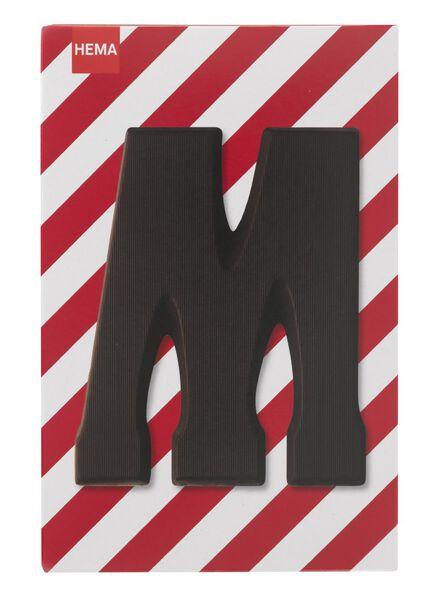 pure chocoladeletter M - 10034011 - HEMA