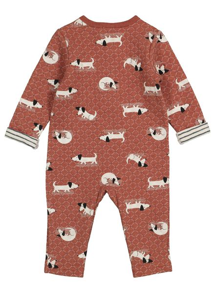 newborn baby jumpsuit bruin bruin - 1000016920 - HEMA