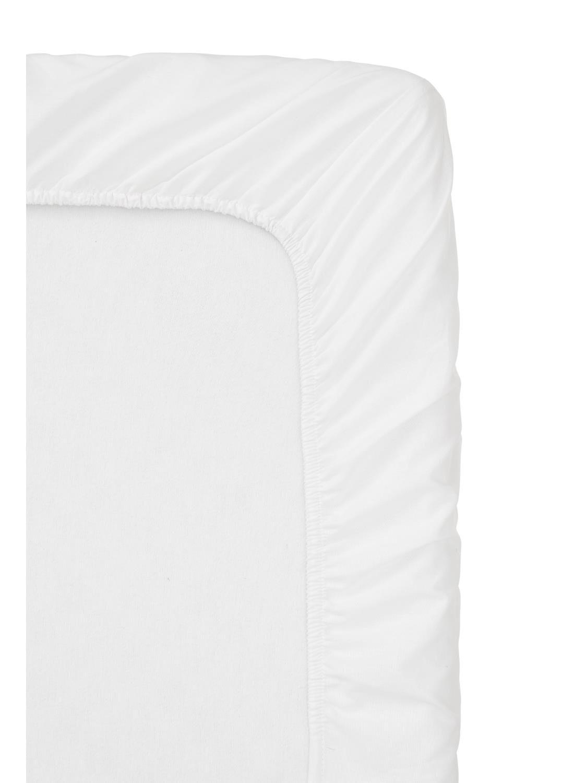 HEMA Katoenen Boxspring Hoeslaken 90 X 220 Cm (blanc)