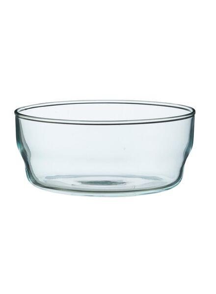 schaal - 14 cm - Bergen - blauw glas - 9680034 - HEMA