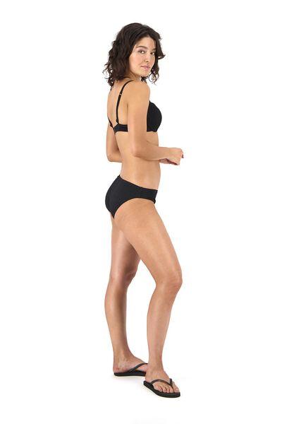 dames padded bikinitop push up zwart zwart - 1000017946 - HEMA