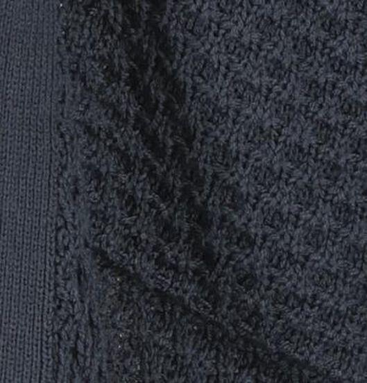 damesvest gebreid donkerblauw donkerblauw - 1000019466 - HEMA