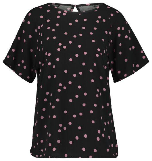 dames top roze S - 36229941 - HEMA