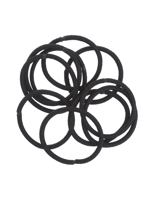 HEMA 10 pak Elastiekjes (zwart)
