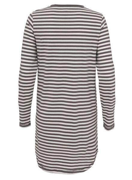 dames nachthemd grijs grijs - 1000009125 - HEMA