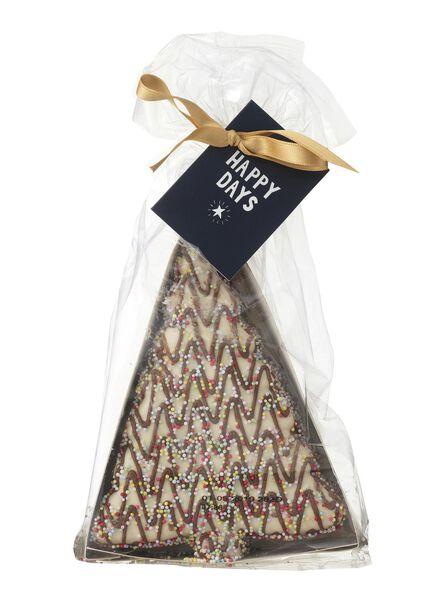 chocolade kerstboomkoeken - 10910010 - HEMA