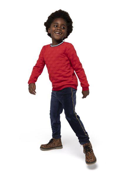 kindersweater rood rood - 1000016509 - HEMA