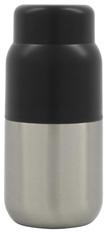 HEMA Isoleerfles 250ml Rvs Zwart (zwart)
