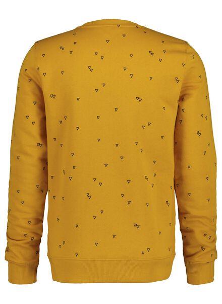 herensweater geel geel - 1000017387 - HEMA