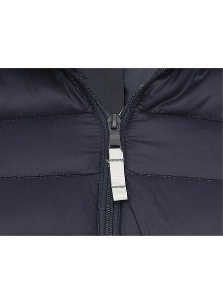 damesjas donkerblauw donkerblauw - 1000009350 - HEMA