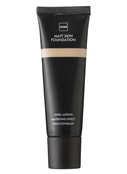matt skin foundation Beige 01 - 11290901 - HEMA