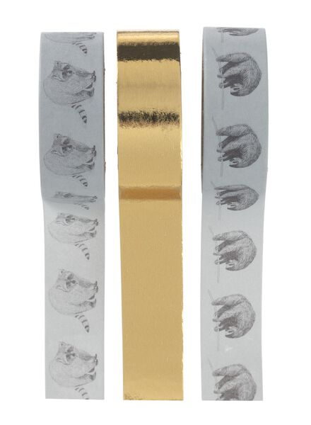 3-pak washi-tape - 14155508 - HEMA