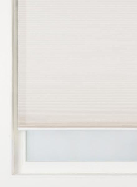 Plissé dubbel lichtdoorlatend / witte achterzijde 32 mm