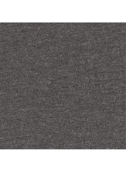 damesrok - biologisch katoen grijsmelange grijsmelange - 1000004760 - HEMA