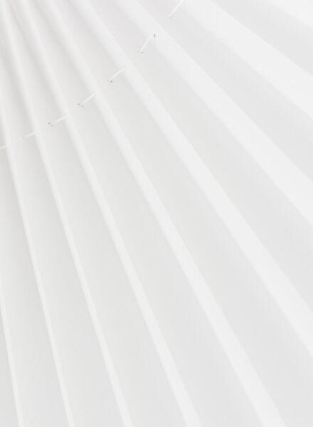 plisségordijn glanzend lichtdoorlatend 20 mm - 7430047 - HEMA