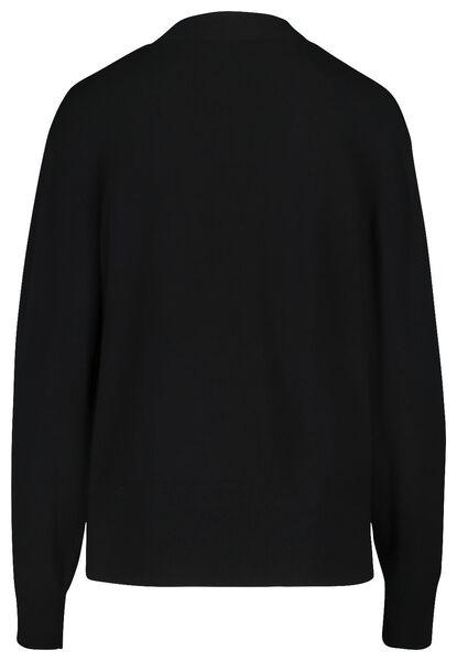 damesvest zwart zwart - 1000018439 - HEMA
