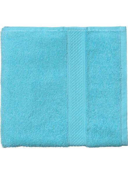 handdoek - 60 x 110 cm - zware kwaliteit - aqua - 5213605 - HEMA