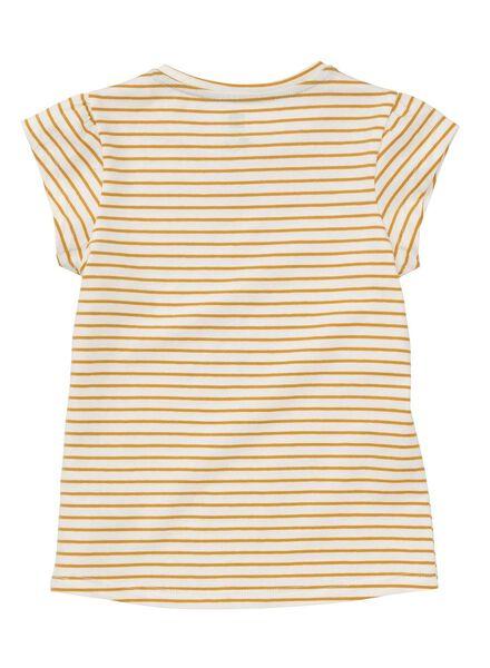 kinder t-shirt geel geel - 1000013394 - HEMA