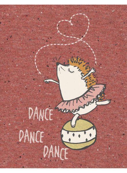 babysweater donkerrood donkerrood - 1000017297 - HEMA